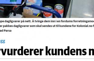 Faksimile Dagens Næringsliv