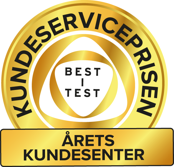 Kundeserviceprisen Best i test