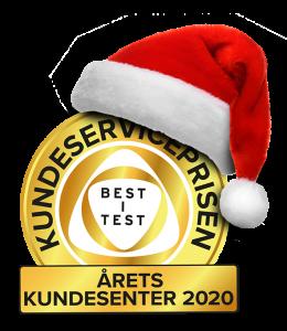 God jul fra Kundeserviceprisen!